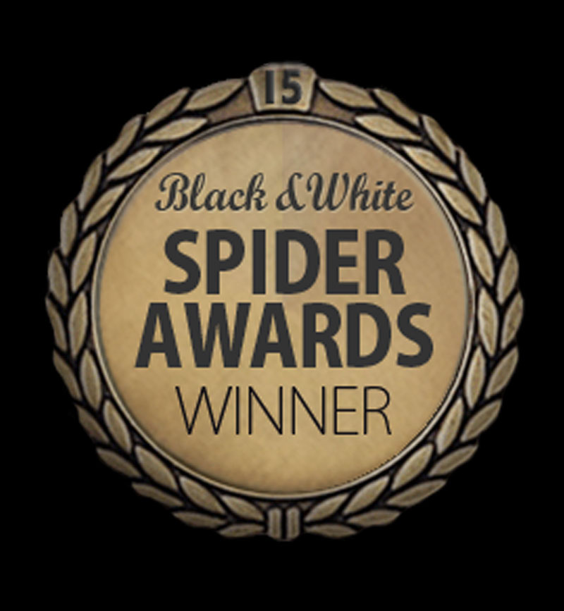 Black and White Spider Awards Winner